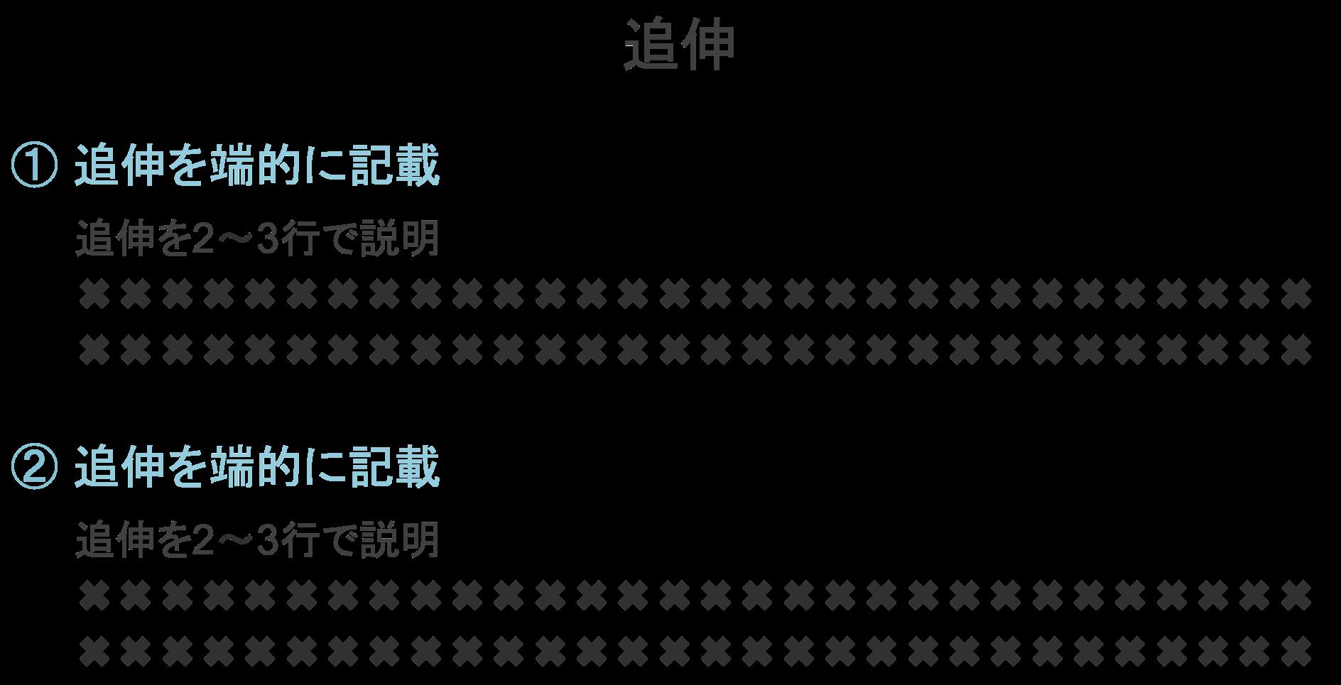 ランディングページ(LP)の構成要素「追伸」の具体例